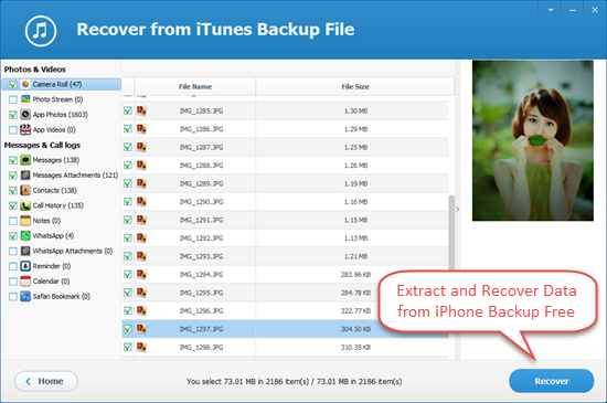 iphone backup viewer free iphone backup extractor tool to extract iphone backup 9121