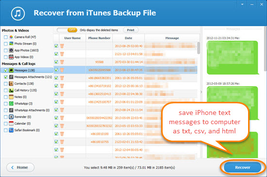 how to save text messages from iphone how to transfer save text messages from iphone to computer 20275