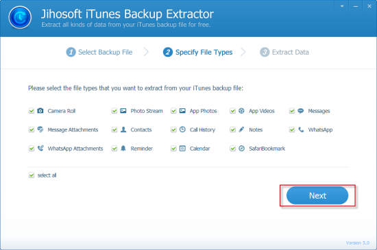 Extract files from iphone free