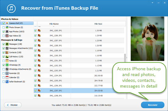 how to delete the iphone backup files