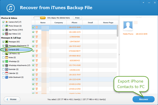 backup iphone photos to pc