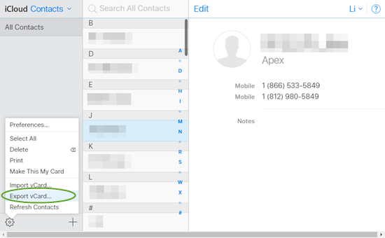 Free Ways to Export/Transfer iPhone Contacts to Computer