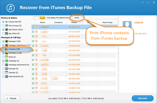 print contacts from iphone how to print contacts on iphone 5s 6 6s se free 15905