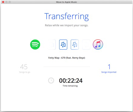 Transfer Spotify Music/Playlists to iTunes and Apple Music