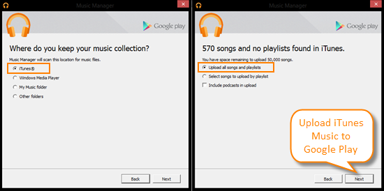 Transfer Music and Playlists from iTunes to Galaxy S6/S6 Edge