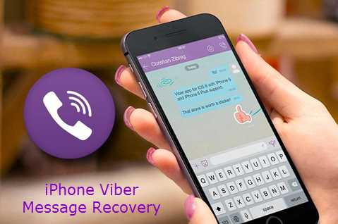 How to Recover Deleted Viber Messages from iPhone (iPhone 7