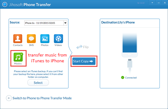 how to transfer music from itunes to iphone  ipad  ipod