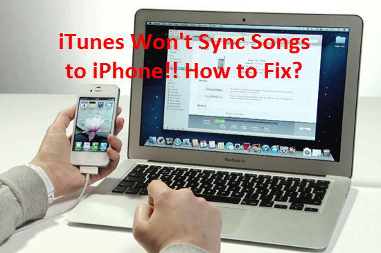 iPhone Won't Sync with iTunes after Upgrading to iOS 9? How to Fix