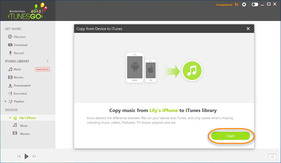 Restore iTunes Library from iPhone, iPad or iPod