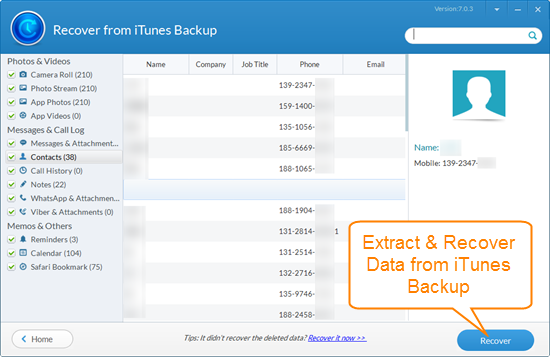 extract-itunes-backup-data