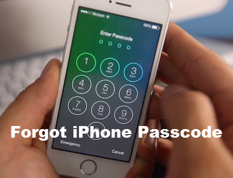 Forgot iPhone Passcode