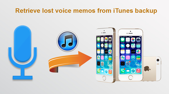 Recover Lost Voice Memos from iPhone Free