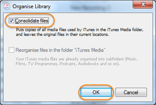 Backup Media Files before Deleting Duplicates in iTunes