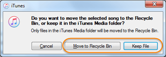 After you find duplicate items, you can start to delete duplicates in iTunes.