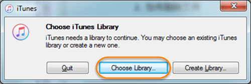 How to Restore iTunes library from Backup