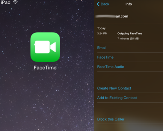 Use FaceTime on Your iPad