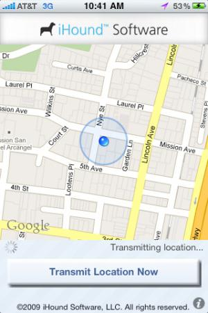 Locate iPhone using iHound