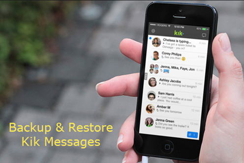 Restore Kik Messages on iPhone