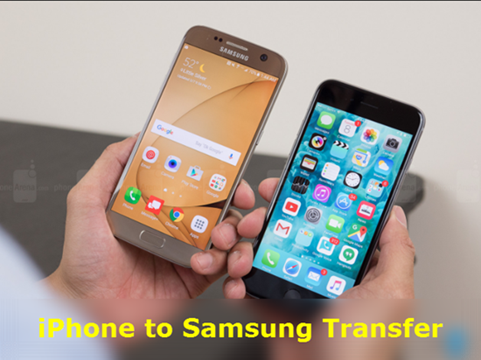 iPhone to Samsung Galaxy S7/S7 Edge EDIT Data Transfer