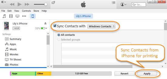 Make Use of iTunes Syncing