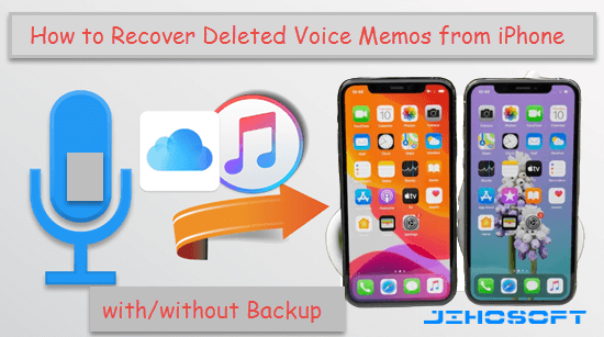 Recover Deleted iPhone Voice Memo