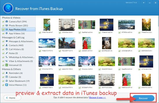 Preview and Extract Data You Need before Deleting Backup