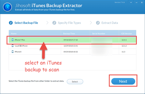 Recover Permanently Deleted iPhone Photos from iTunes Backup