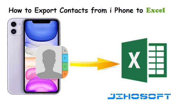 Export Contacts from iPhone to Excel