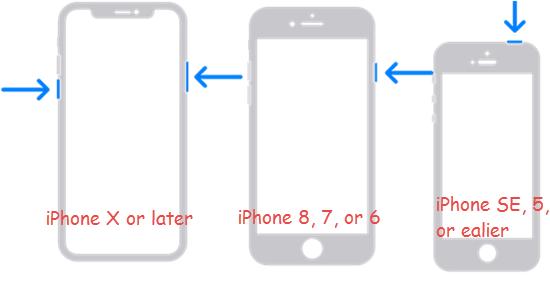 Reboot your iPhone