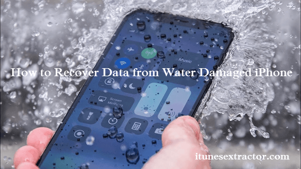Retrieve Data from Water Damaged iPhone.
