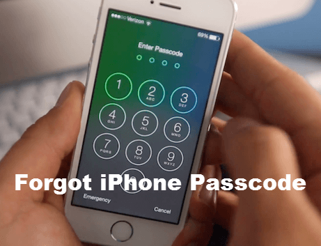 Forgot Your iPhone Passcode.
